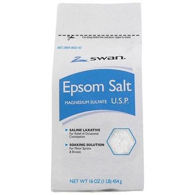 Swan Epsom Salt, 16 oz