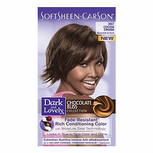 Dark and Lovely Chocolate Bliss Collection Fade-Resistant Rich Conditioning Color