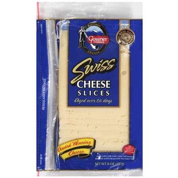 Gossner's Premium Swiss Cheese Slices, 8 oz