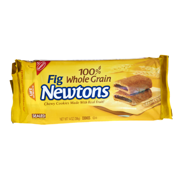 Nabisco Fig Newtons 100% Whole Grain Chewy Cookies Made with Real Fruit