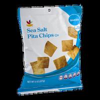 Ahold Baked Sea Salt Pita Chips
