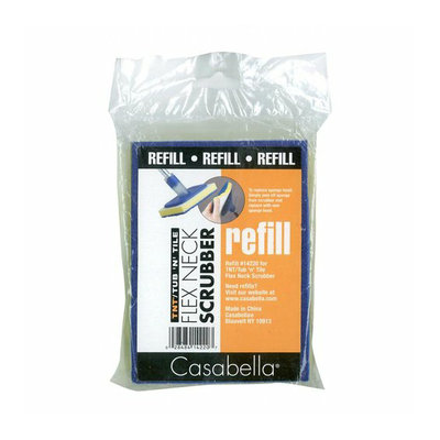 Casabella 14223 Flex Neck Tub 'n Tile Scrubber Refill - 2-Pack