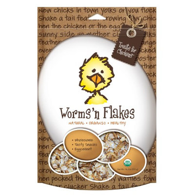 Treats For Chickens Llc Treats For Chickens Worms'n Flakes, Size: Individual Pack