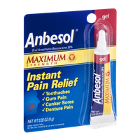 Anbesol Instant Pain Relief Maximum Strength Gel