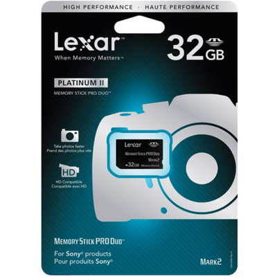 Lexar 32GB Memory Stick PRO Duo