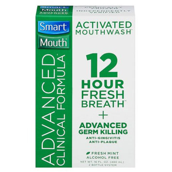SmartMouth Advanced Clinical Formula 12 Hour Activated Mouthwash