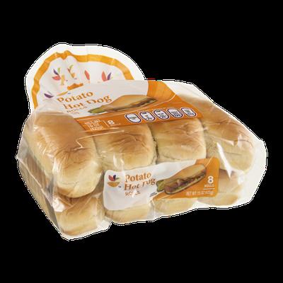 Ahold Potato Hot Dog Rolls