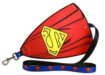 Buckle-down Inc. DC Comics Superman Emblem Caped Dog Leash - Turn Any Pup Into A Wonder-pooch