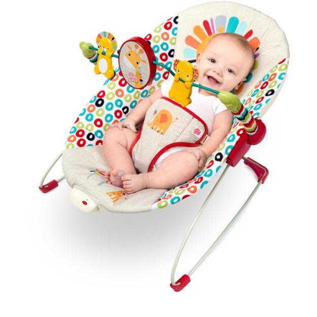 Comfort & Harmony Bright Starts Playful Pinwheels Bouncer