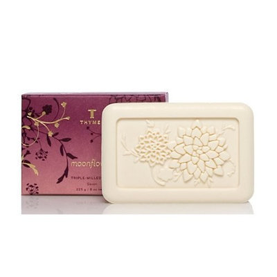 Thymes Triple Milled Soap, Moonflower, 8-Ounce Bar