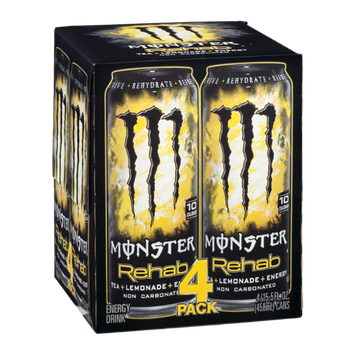 Monster Rehab Tea Plus Lemonade Plus Energy