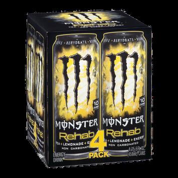 Monster Rehab Tea Plus Lemonade Plus Energy