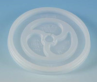 WINCUP FL4NV Disposable Lid, Non-Vented, Trans, PK1000