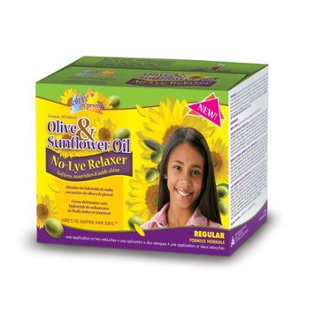 Sofn'free n'pretty Olive & Sunflower Oil No-Lye Relaxer Regular