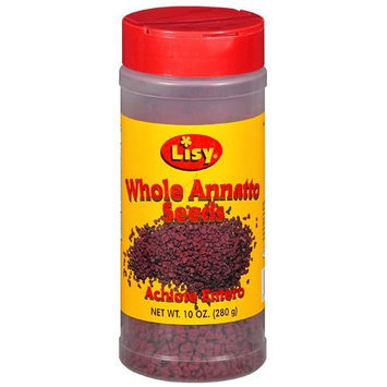 Lisy Whole Annatto Seeds, 10 oz