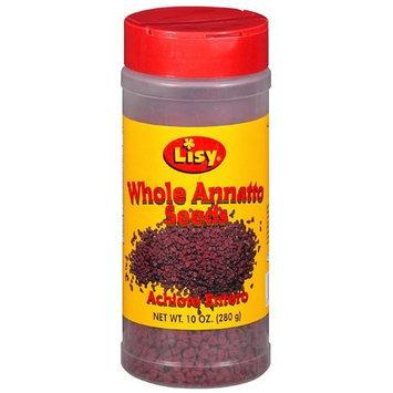 Lisy Whole Annatto Seeds, 10 oz