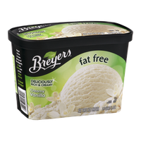 Breyers Fat Free Creamy Vanilla 48 oz