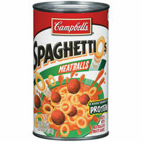 Campbell's Spaghettios w/Meatballs Soup