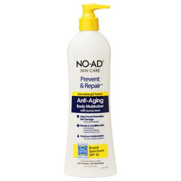 No-ad NO-AD Prevent & Repair Anti-Aging Body Moisturizer SPF 15, Lotion, 12 fl oz