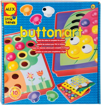 Alex Toys BA1408 Button Art Kit for Little Hands
