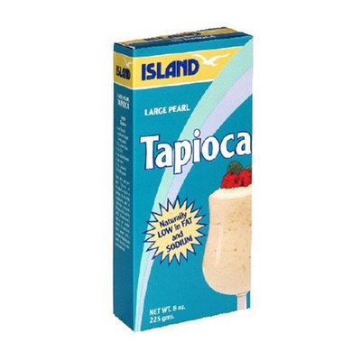 Island Tapioca, Large Pearl, 8 Ounce (Pack of 12)