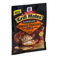 McCormick Grill Mates Slow & Low Tennessee Smokehouse BBQ Rub