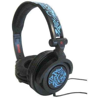 MAXELL 190265 - AMPB AMPLIFIED HEAVY BASS HEADPHONES (BLUE) - 190265 - AMPB