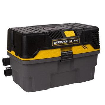 WORKSHOP Wet/Dry Vacs 4.5 Gal. 5.0 Peak HP Contractor Wet/Dry Vac