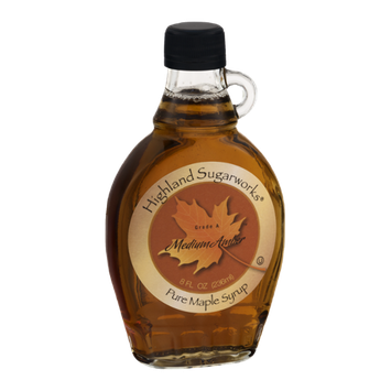 Highland Sugarworks Medium Amber Pure Maple Syrup