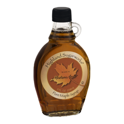 Highland Sugarworks Medium Amber Pure Maple Syrup
