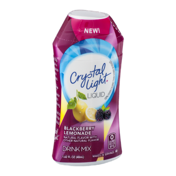 Crystal Light Liquid Drink Mix Blackberry Lemonade Flavor