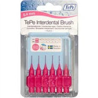 Tepe Oral Health Care Interdental Brush Pink (.4mm) 6 Count