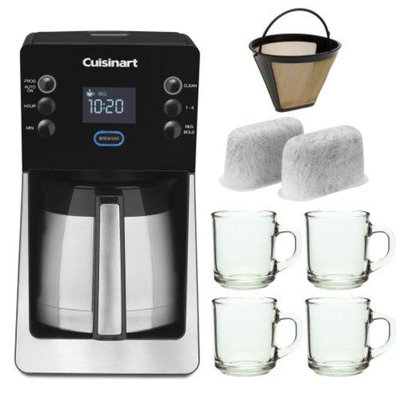Cuisinart Perfectemp 14-cup Thermal Programmable Coffeemaker Bundle with 2-Pack