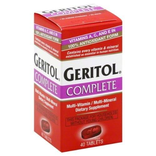 Geritol Complete Tablets - 40