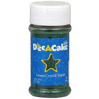 Dec-A-Cake Green Crystal Sugars