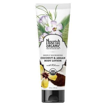 Nourish Organic Body Lotion - Coconut & Argan (8 oz)