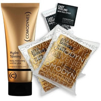 Comodynes TT Total Tan Package (16 Self Tanning Towelettes + Hydra Tanning Moisturizer + Facial Peeling Towelettes)