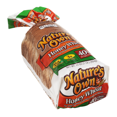 Nature's Own Enriched Bread Honey Wheat