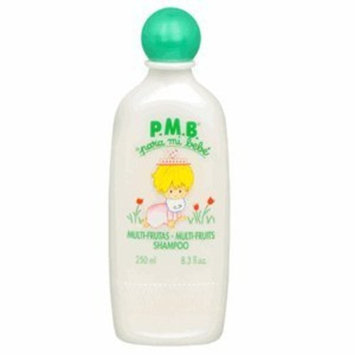 P.M.B. para mi bebe Multi Frutas Multi Fruits Shampoo 8.3 fl oz