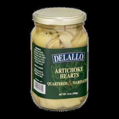 Delallo Artichoke Hearts Quartered & Marinated