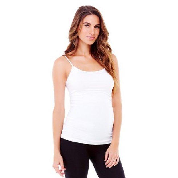 Be Maternity Seamless Cami - True White Small/Medium