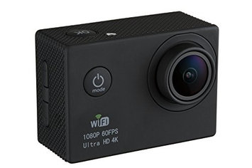 Gvb 4K Action Camera with Built-in LCD