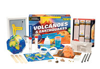 Thames & Kosmos Exploration Series Volcanoes and Earthquakes