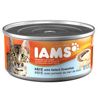 Iams ProActive Health Adult Cat Premium Pate with Select Oceanfish 3 Oz