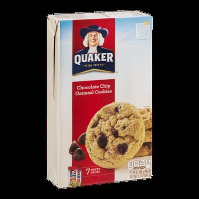 Quaker Chocolate Chip Oatmeal Cookies