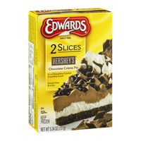 Edwards Slices Hershey's Chocolate Creme Pie - 2 CT