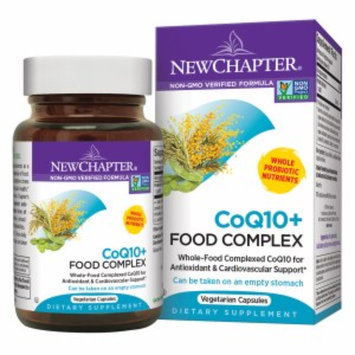 New Chapter Organics CoQ10+ Food Complex