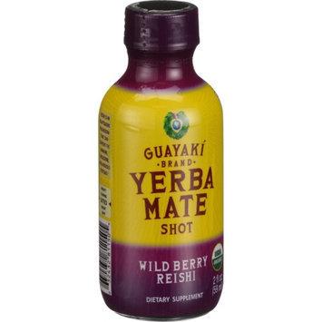 Guayaki - Organic Energy Shot Wild Berry Reishi - 2 oz.