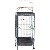 Super Pet Kaytee EZ Care Bow Front Playtop Bird Cage
