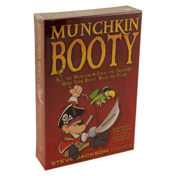 Munchkin MUNCHKIN Booty Steve Jackson Pirate Themed Game